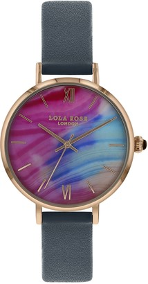 Lola Rose Womens Analogue Classic Quartz Watch with Leather Strap LR2064