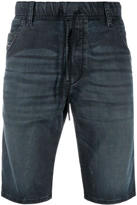 Diesel Knee-Lenght Denim Shorts