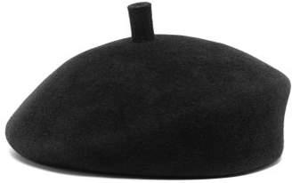 Lola Hats Frenchy Felt Beret - Womens - Black