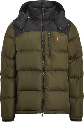 Ralph Lauren Colour-Blocked Down Jacket