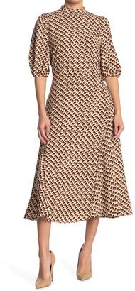 Diane von Furstenberg Nella High Neck Dress