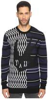 McQ El Swallow Crew Neck Sweater