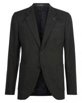 Jaeger Brushed Cotton Slim Jacket