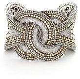 Pavé Diamond Twisted Cuff Bracelet