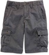 Arizona Twill Cargo Shorts - Boys 8-20, Slim and Husky