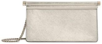 Valentino Garavani Metallic Leather Clutch Bag