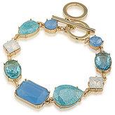 Carolee Crackled Stones Toggle Bracelet