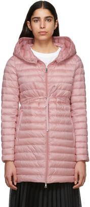 Moncler Pink Down Barbel Jacket