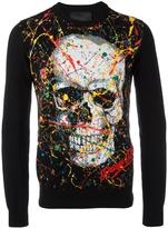 Philipp Plein Odd jumper - men - Cotton/Polyester/Viscose - M