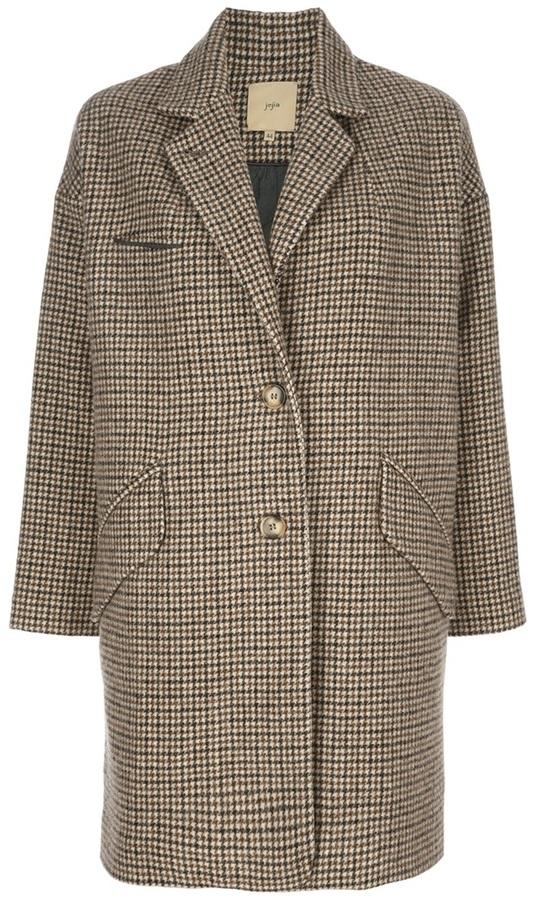 Jejia long tweed coat
