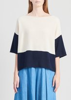 Demy Lee Olympia Sweater Vanilla Navy
