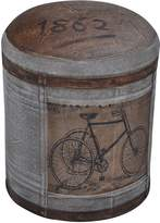 Phil Bee Interiors Ottomans Bicycle Ottoman