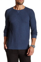 Velvet by Graham & Spencer Long Sleeve Ribbed Raglan Tee