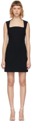 Bottega Veneta Black Viscose and Silk Dress