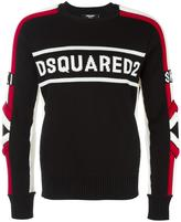 DSQUARED2 Ski logo jumper - men - Wool - S