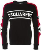 DSQUARED2 Ski logo jumper