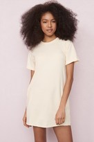 Garage Short Sleeve Sweatshirt Dress