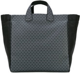Emporio Armani shopper tote - men - Cotton/Leather/Polyester/PVC - One Size