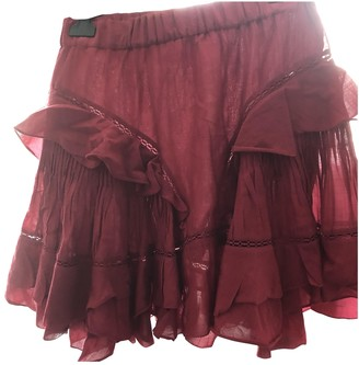 Etoile Isabel Marant Pink Cotton Skirt for Women