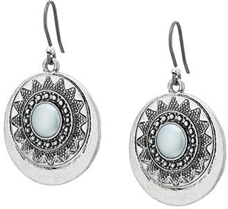 Lucky Brand Bali Earrings (Medium Grey) Earring