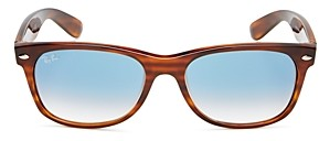 Ray-Ban Unisex Wayfarer Rubberized Square Sunglasses, 50mm