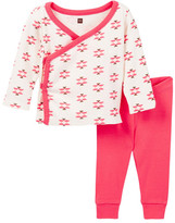 Tea Collection Glaciar Rio Blanco Pink Outfit (Baby Girls)