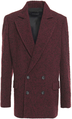Roland Mouret Gilroy Double-breasted Wool-blend Boucle Blazer