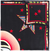 Givenchy Stars and Eye print scarf - unisex - Silk/Modal - One Size