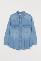H&M H&M+ Oversized cotton shirt