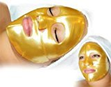 Fine Lines Jovena Beauty Gold Collagen Face Mask for Anti Aging (Pack of 4)