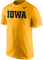 Nike Men's Iowa Hawkeyes Wordmark T-Shirt