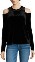 i jeans by Buffalo Long Sleeve Cold Shoulder Top