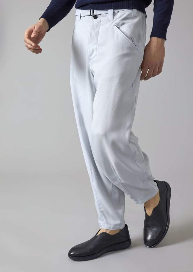 Giorgio Armani Floaty Trousers With Belt