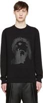 Givenchy Black Tonal Jesus Sweatshirt