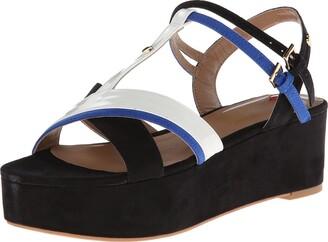 Love Moschino Women's Colorblock Strappy Sandal