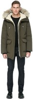 Soia & Kyo DERICK classic down jacket with hood in army