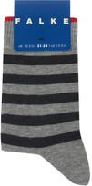 Falke Double stripe cotton-blend socks