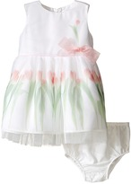 Us Angels Sleeveless Mesh Popover w/ Tulip Photo Reel Print (Infant)