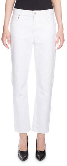 Balenciaga Classic Denim Jeans, White