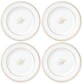 Lenox Federal Gold Monogram Dinnerware Collection, Script or Block Letters