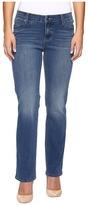 Liverpool Petite Sadie Straight Jeans in Carolina Light/Indigo