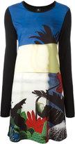 Paul Smith floral print shift dress - women - Polyamide/Modal/Spandex/Elastane - S