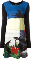 Paul Smith floral print shift dress - women - Polyamide/Spandex/Elastane/Modal - S