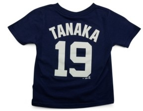 Nike New York Yankees Masahiro Tanaka Toddler Name and Number Player T-Shirt