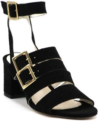Bettye Muller Concept Chunky-Heel Buckle Sandals