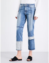 Paige Sarah straight high-rise cropped jeans