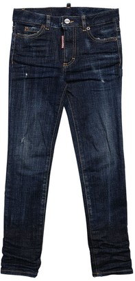 DSQUARED2 Stretch Cotton Denim Jeans