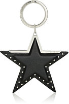 Givenchy Women's Leather Star Key Ring-SILVER