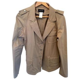 Patrizia Pepe Beige Cotton Trench Coat for Women