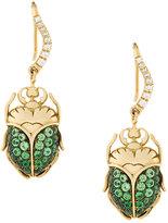 Aurelie Bidermann Scarab earrings
